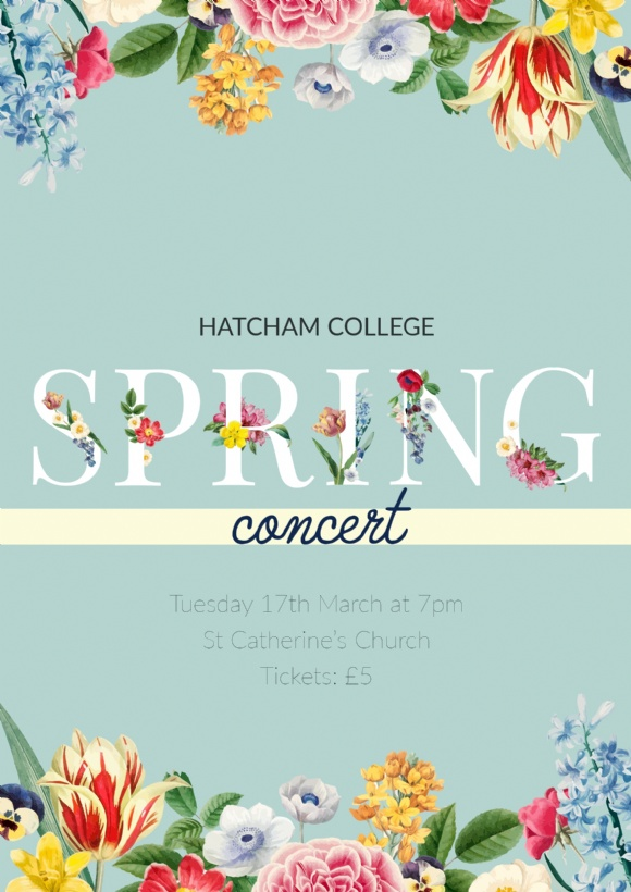 Spring Concert 17th march 2020